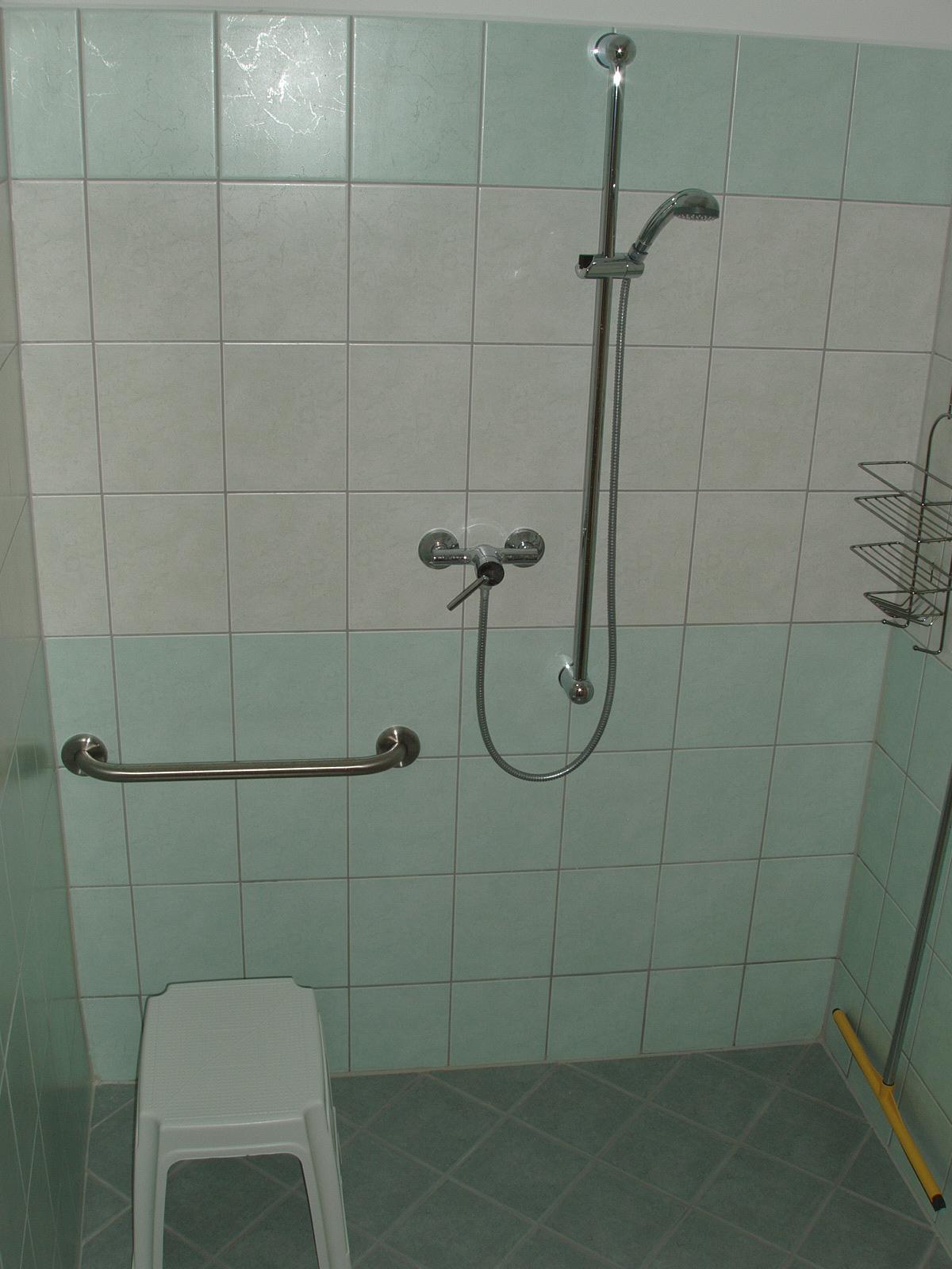 Stúdió apartman zuhanyzó