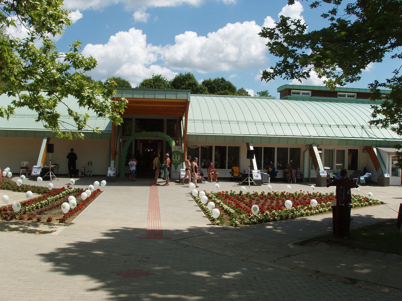 A fogadótér bejárata
