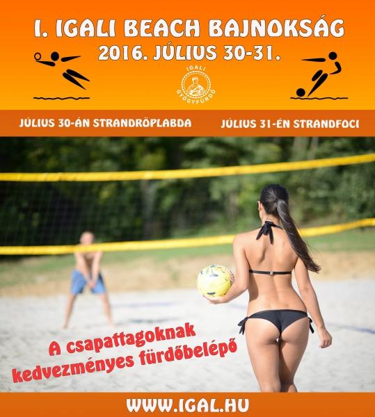 I. Igali Beach Bajnokság
