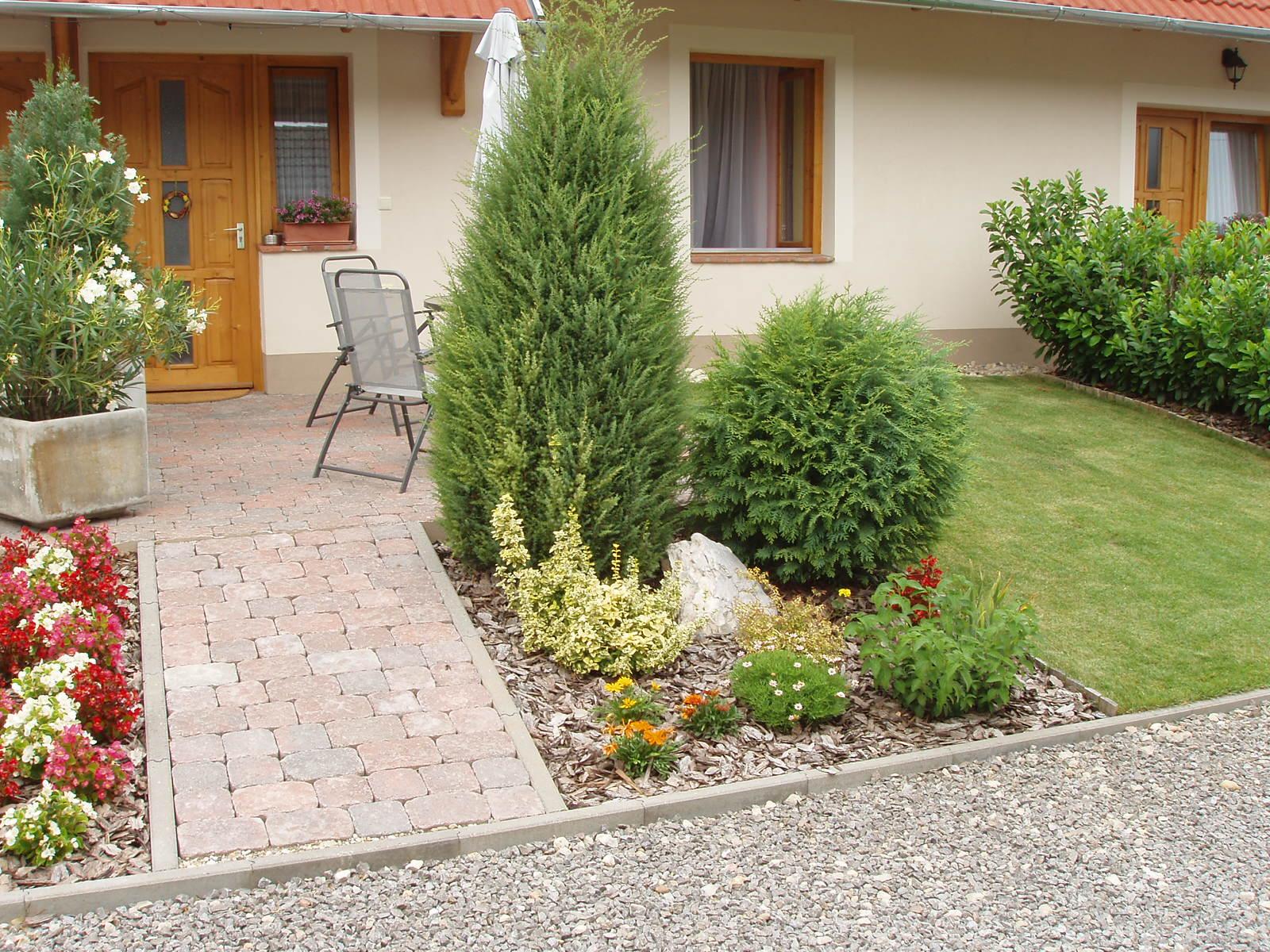 Apartman nyári kert
